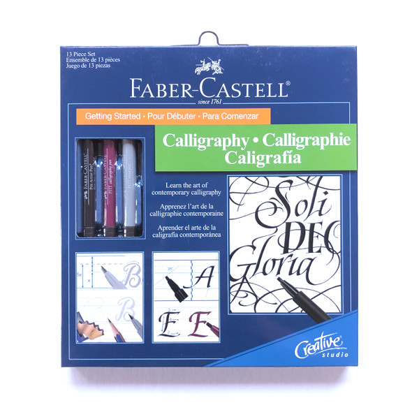 Faber-Castell Creative Studio Getting Started Calligraphy Set 13 Pieces
