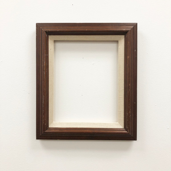 """Readymade Picture Frame Wood with Linen Liner 8 x 10"""""""
