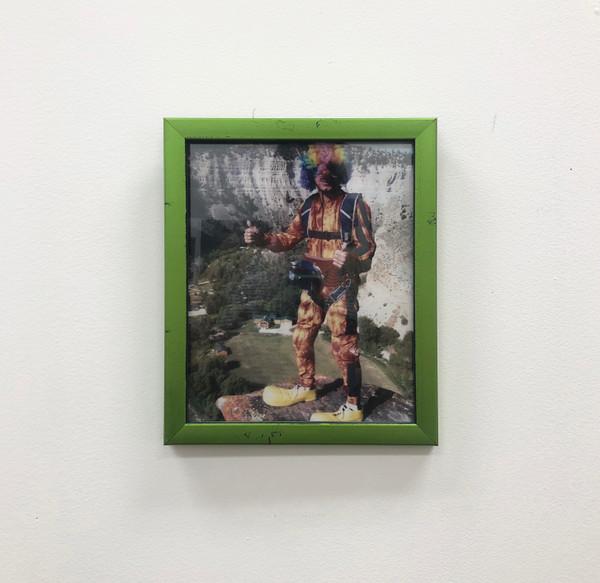 "Pinnacle Picture Frame Metallic Lime Green 8 x 10"""