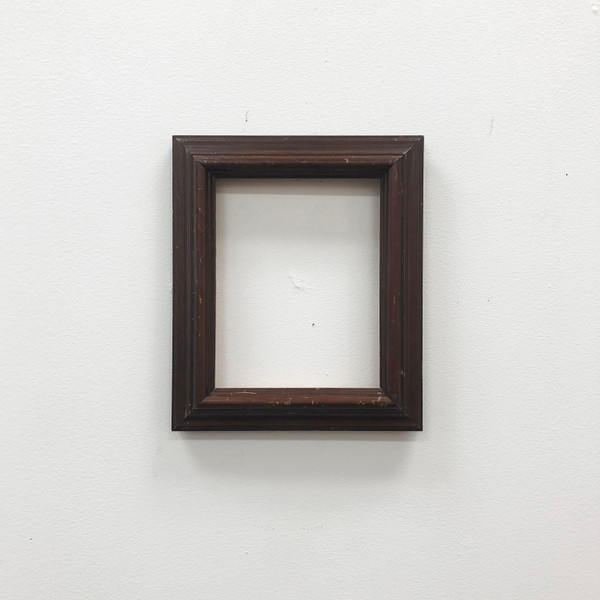 """Readymade Picture Frame Walnut Wood 6 x 7 1/2"""""""