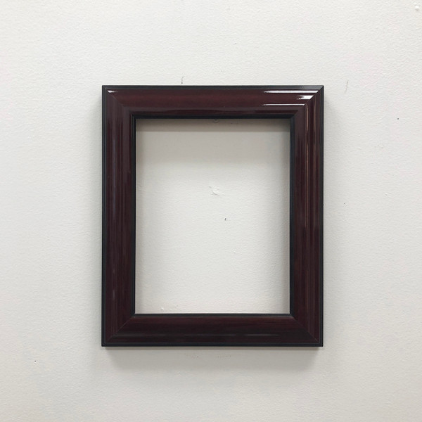 """Readymade Picture Frame Gloss Cherry Wood  8 x 10"""""""