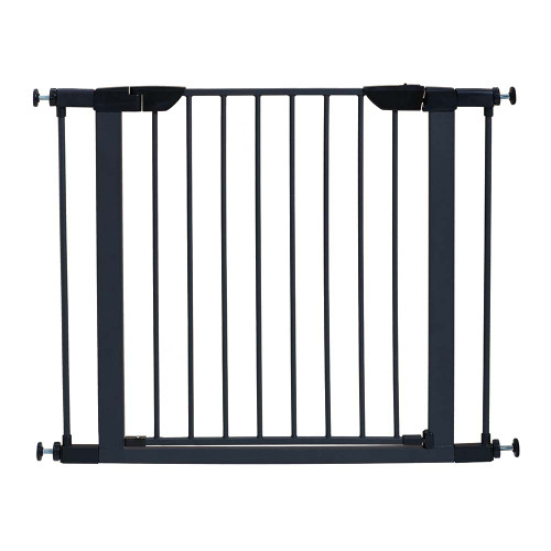 "Midwest Steel Pressure Mount Pet Gate Graphite 29.5"" - 38"" x 1"" x 29.875"""