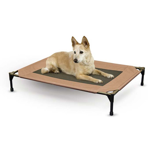 "K&H Pet Products Original Pet Cot Replacement Cover Large Chocolate 30"" x 42"""