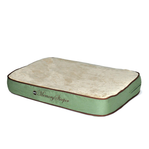 "K&H Pet Products Memory Sleeper Pet Bed Medium Sage 23"" x 35"" x 3.75"""