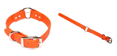"TufFlex Center Ring Dog Collar 1"" Wide"