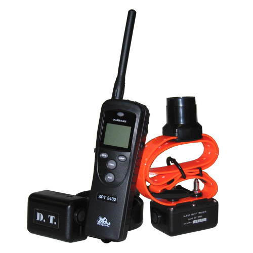 D.T. Systems SPT-2432 Super Pro e-Lite 2 Dog 1.3 Mile Remote Trainer with Beeper (SPT-2432)