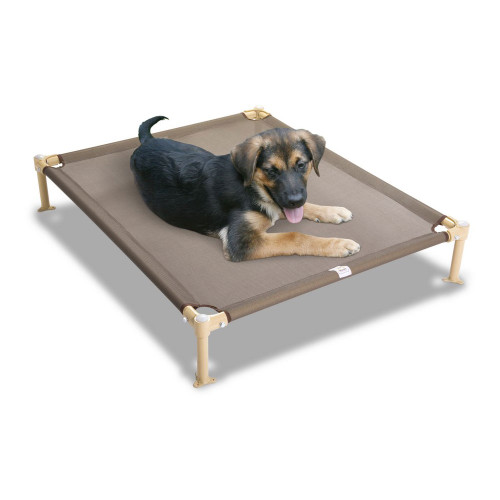"Hugs Pet Products Dog Cool Cot Large Tan 38"" x 32"" x 7"""