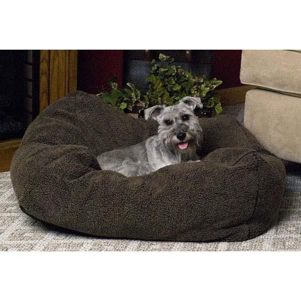 "K&H Pet Products Cuddle Cube Pet Bed Medium Mocha 28"" x 28"" x 12"""