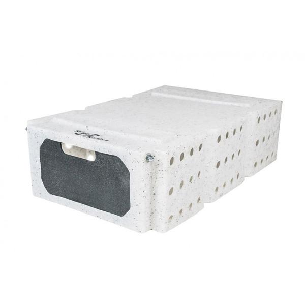 Ruff Land Bird Box White