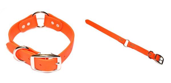 "TufFlex Center Ring Dog Collar 1"" Wide"