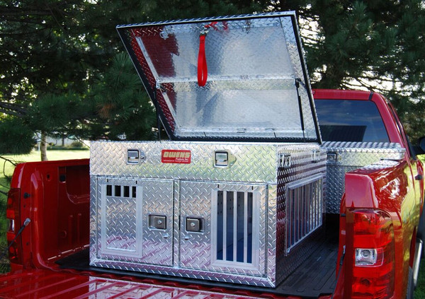 Hunter Series Double Compartment with Top Storage and all season vents (55011)