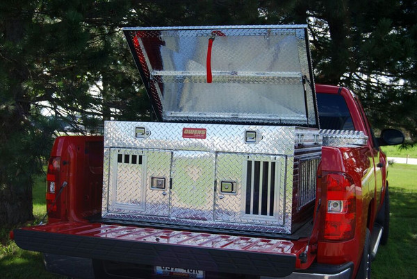 Hunter Series Double Compartment with Top Storage and all season vents (55012)