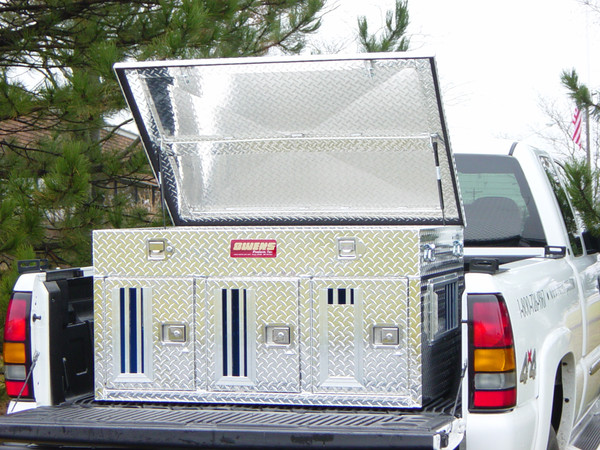 HUNTER SERIES TRIPLE COMPARTMENT WITH TOP STORAGE (55058)