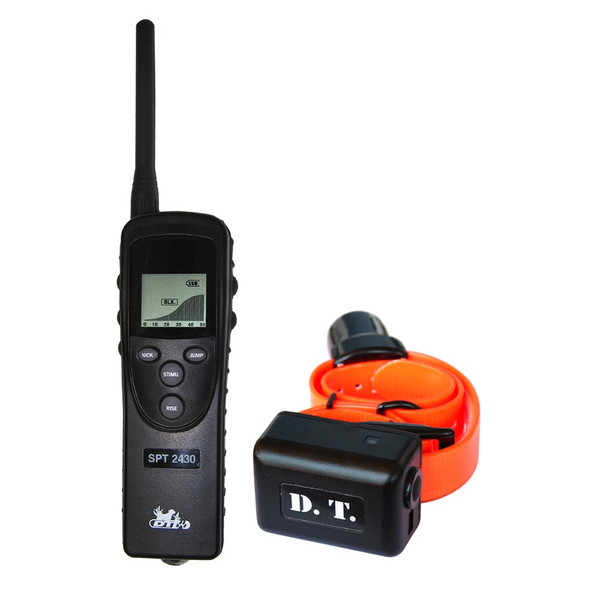 D.T. Systems SPT-2430 D.T. Systems Super Pro e-Lite 1.3 Mile Remote Dog Trainer with Beeper (SPT-2430)