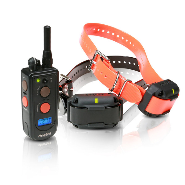 Dogtra 2302NCP Training and Beeper 3/4 Mile 2 Dog Remote Trainer Black / Orange (2302NCP)