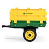 Kids John Deere Classic Farmyard Tractor Wheeled Trailer