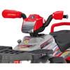 24v  Twin Seat Peg Perego Polaris Sportsman Battery Powered Quad Bike
