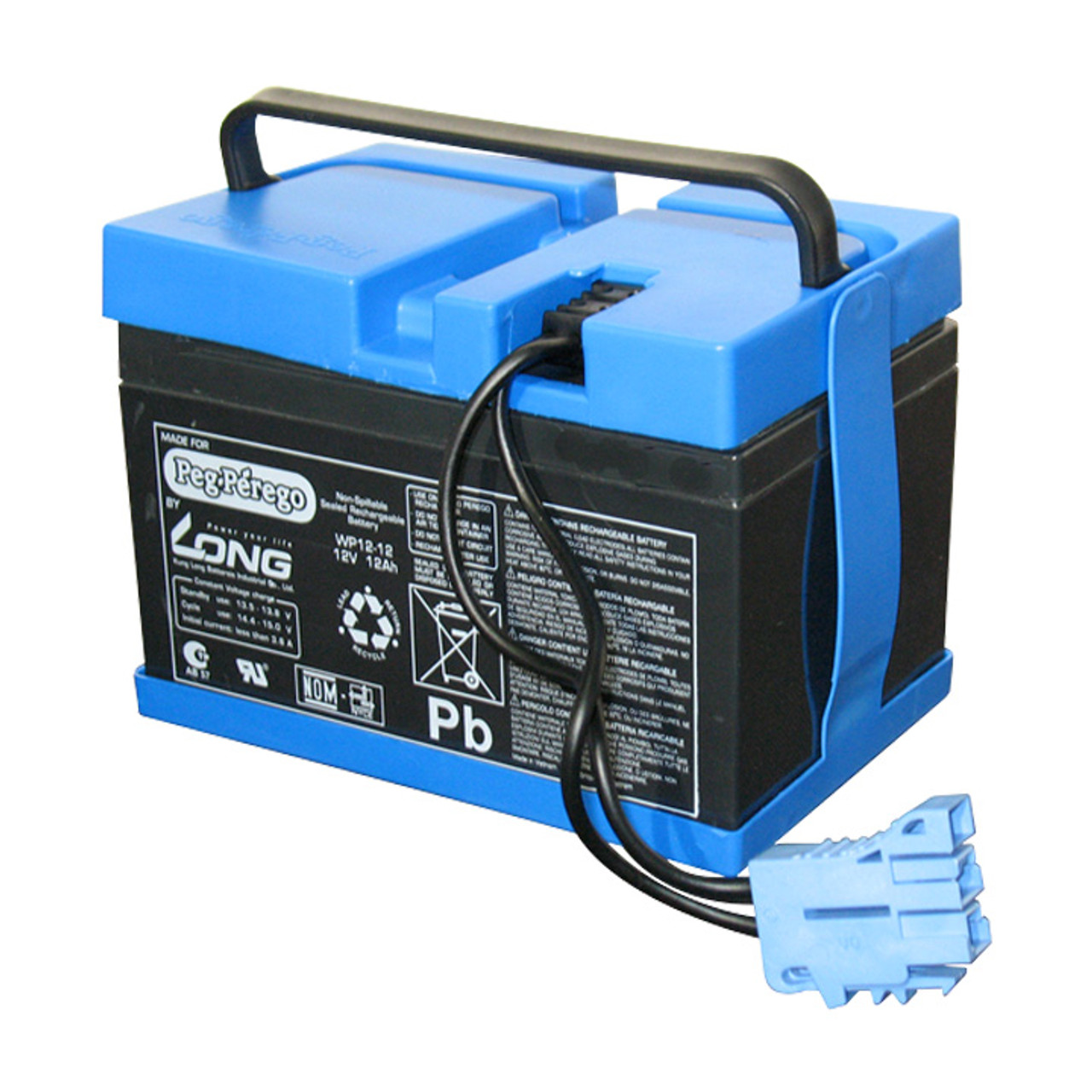 Prime Official 12V 12Ah Replacement Peg Perego Battery Iakb0036 Peg Wiring Cloud Battdienstapotheekhoekschewaardnl