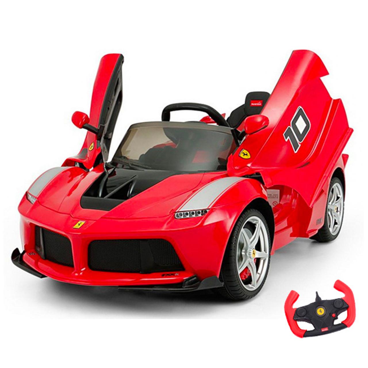 Official Kids Ferrari 12v Laferrari Fxx Ride On Car Peg Perego Battery Toys
