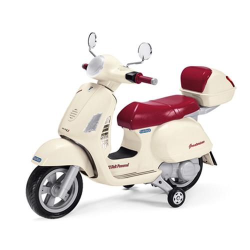 Official Vespa 12v Kids Moped by Peg Perego