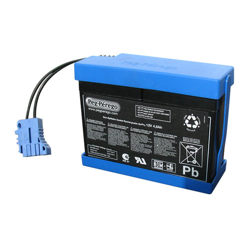 Licensed Peg Perego 12v 4.5ah Replacement Battery - IAKB0032