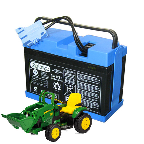 Replacement 12v Battery for John Deere Ground Loader Kids Tractor - IAKB0034