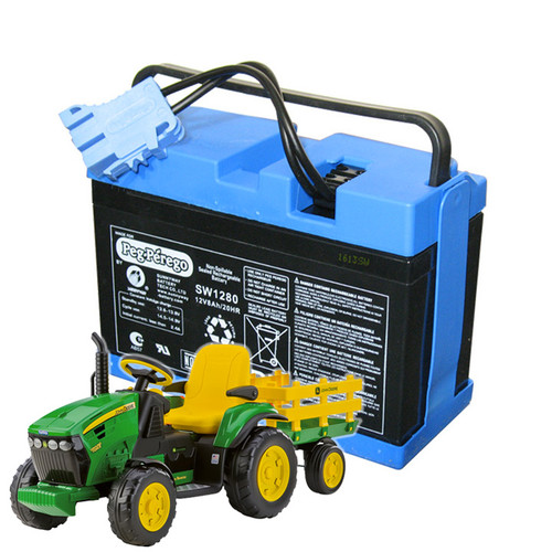Replacement 12v Battery for John Deere Ground Force Kids Tractor - IAKB0034