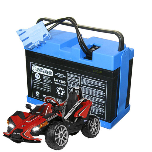 Replacement 12v Battery for Peg Perego Polaris Single Slingshot - IAKB0034