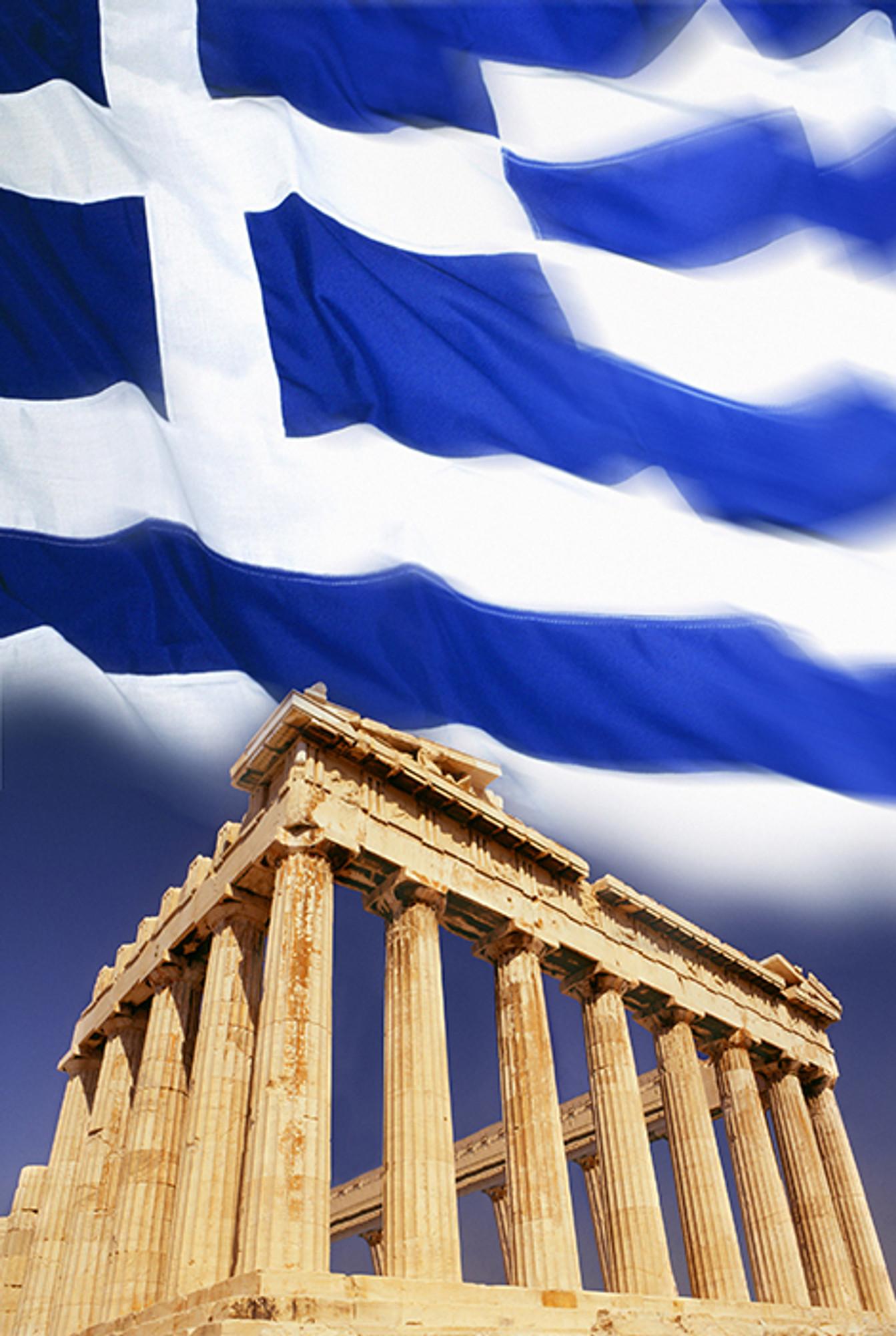 Greek Flag Pantheon A Focus On Florida