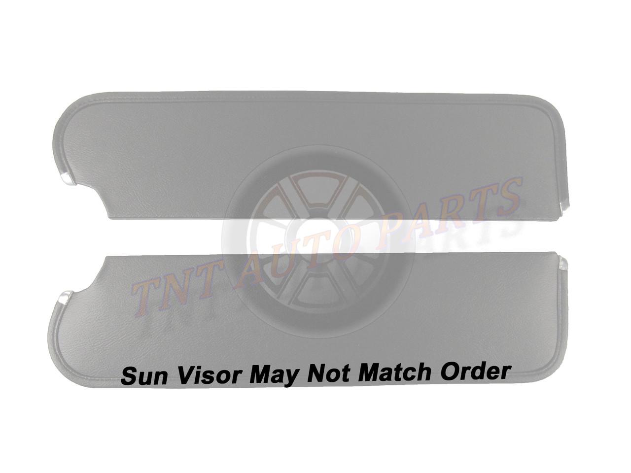 Sun Visor for 1963-1965 Buick Riviera 2-Door Hardtop Ribbed White