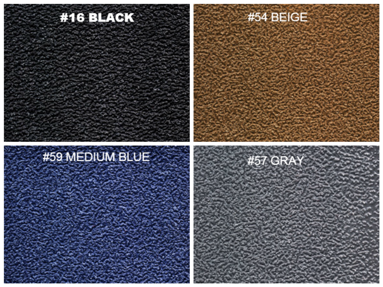 1994-2002 Dodge Ram Vinyl / Rubber Flooring Choose Color