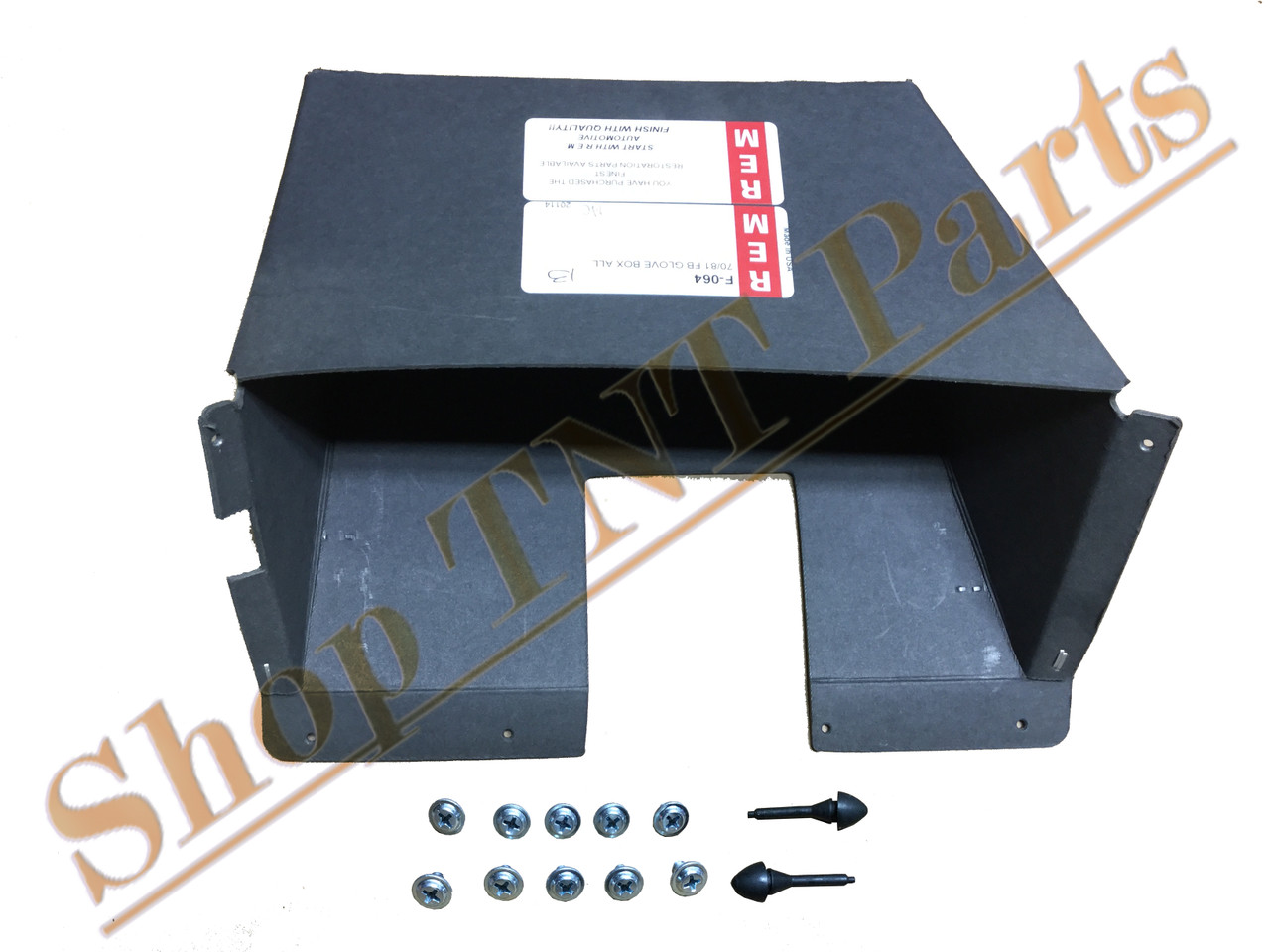 1960 Dodge Truck New Reproduction Glove Box liner