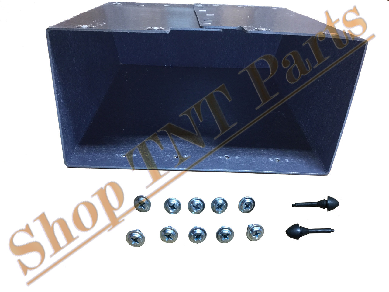 1948-1953 Dodge Truck Without Heater  Glove Box Liner With Screws & Bumpers  B Series