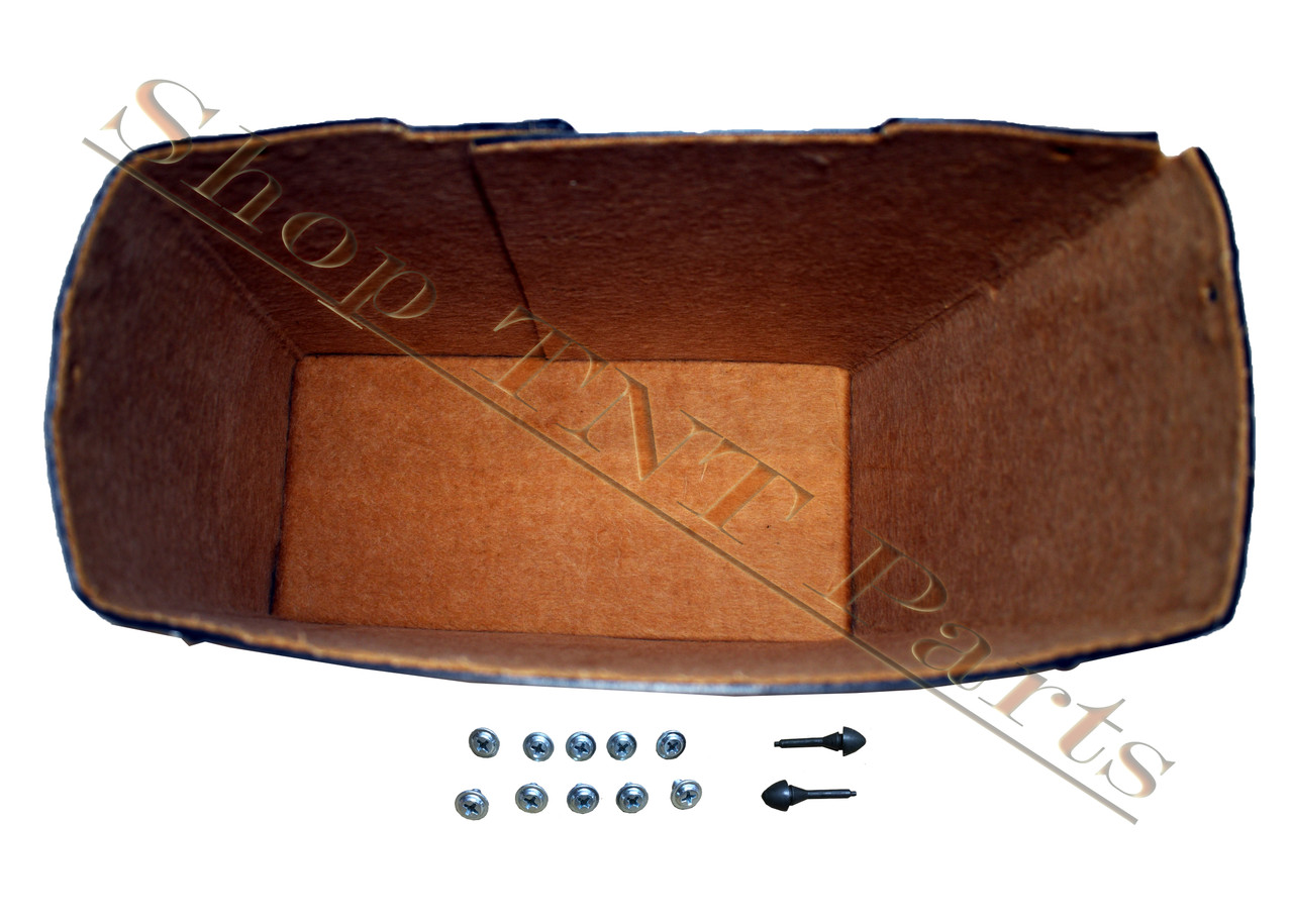 1936 1937 Cadillac Series 75 Glove Box Liner With Screws & Bumpers