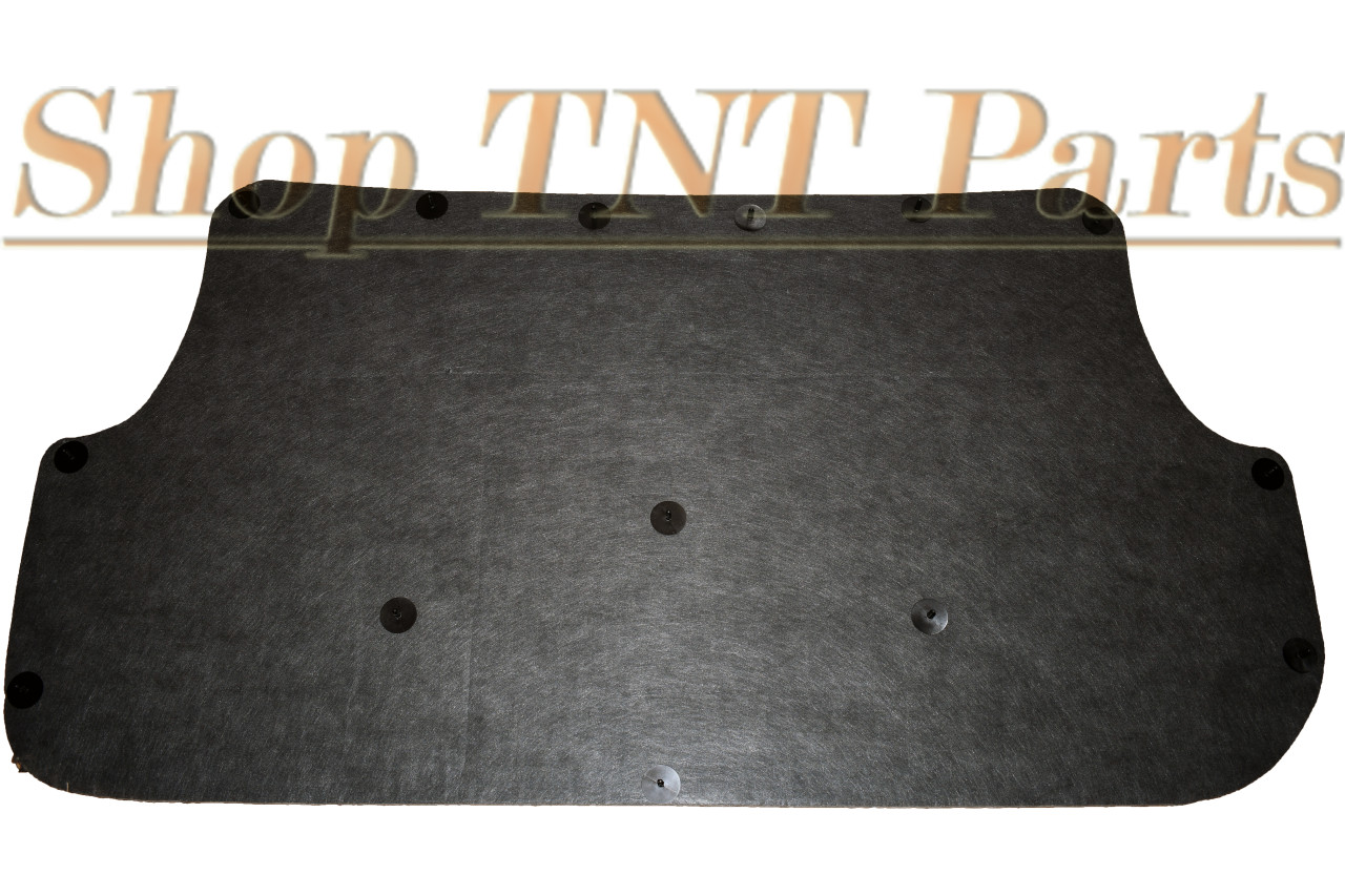 1980-1986 F150 & Bronco Hood Insulation Pad & Clips F250