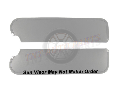 1962 Plymouth Sun Visors Non-Perforated