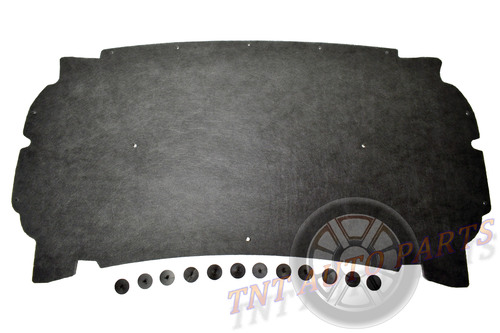 "2004-2008 Ford F-150 Hood Insulation Pad 1/2"" with clips"