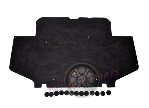 "1995-2000 Toyota Tacoma Hood Insulation Pad 1/2"" with clips"