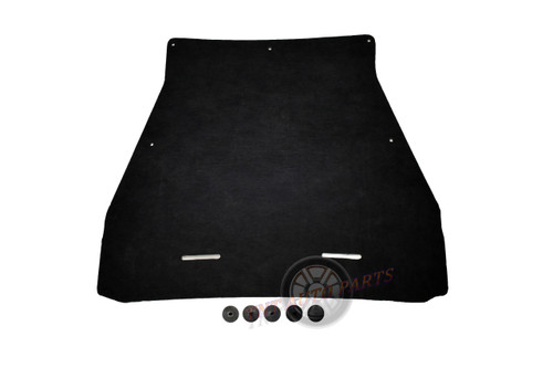 """2006-2012 Ford Ranger Hood Insulation Pad 1/2"""" with clips"""