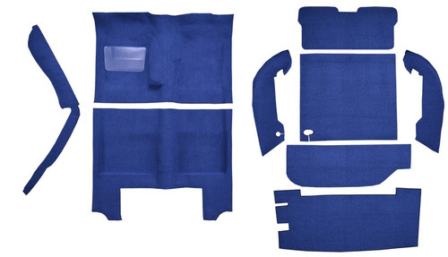 1964-66 Plymouth Barracuda Molded Carpet Kit