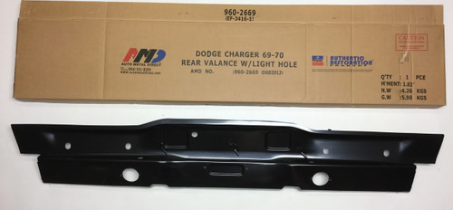 1969-70 Dodge Charger Rear Lower Valance