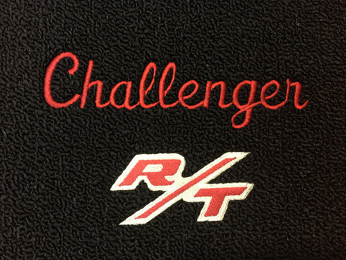 1970-74 Challenger R/T Embroidered Floor Mats Mopar Licensed
