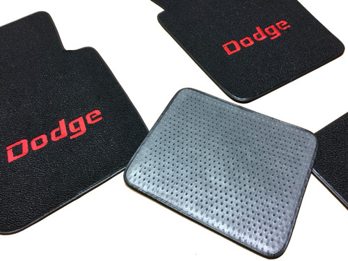 1970-1974 Dodge Challenger Embroidered Floor Mats Mopar Licensed