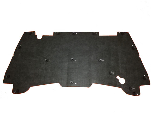 1994-2001 Dodge Ram Hood Insulation Pad w/ Clips 1500 2500 Cummins