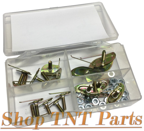 36pc Universal Molding Fasteners / Clips Free Shipping
