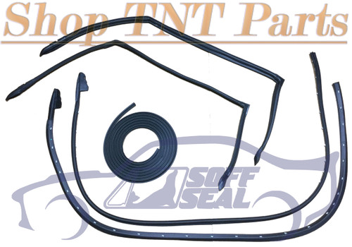 1968-1970 B Body Door, Roof & Trunk Seal ( SoffSeal ) Free Ship