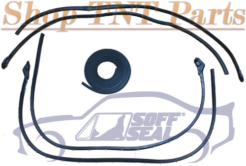 1971-74 E Body Doors, Roof Rail & Trunk Seal Weatherstripping ( SoffSeal)