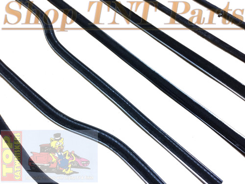 1962 Dodge & Plymouth B Body 2dr Hardtop  Window Felt Kit Belt Lines