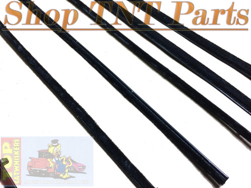 1962 Fury Polara 4 Door Hardtop Window Felt Kit Belt Lines