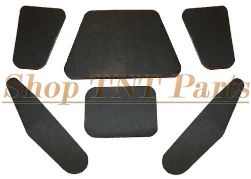 1966-69 AMC American Hood Insulation Pad 6pc